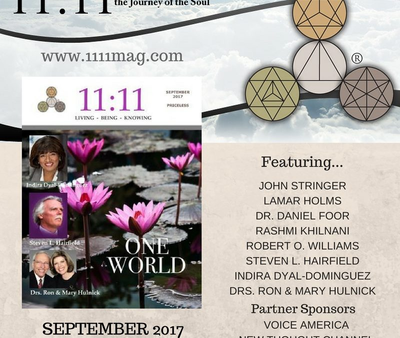 Celebrating ONE WORLD: 11:11 Magazine's latest issue
