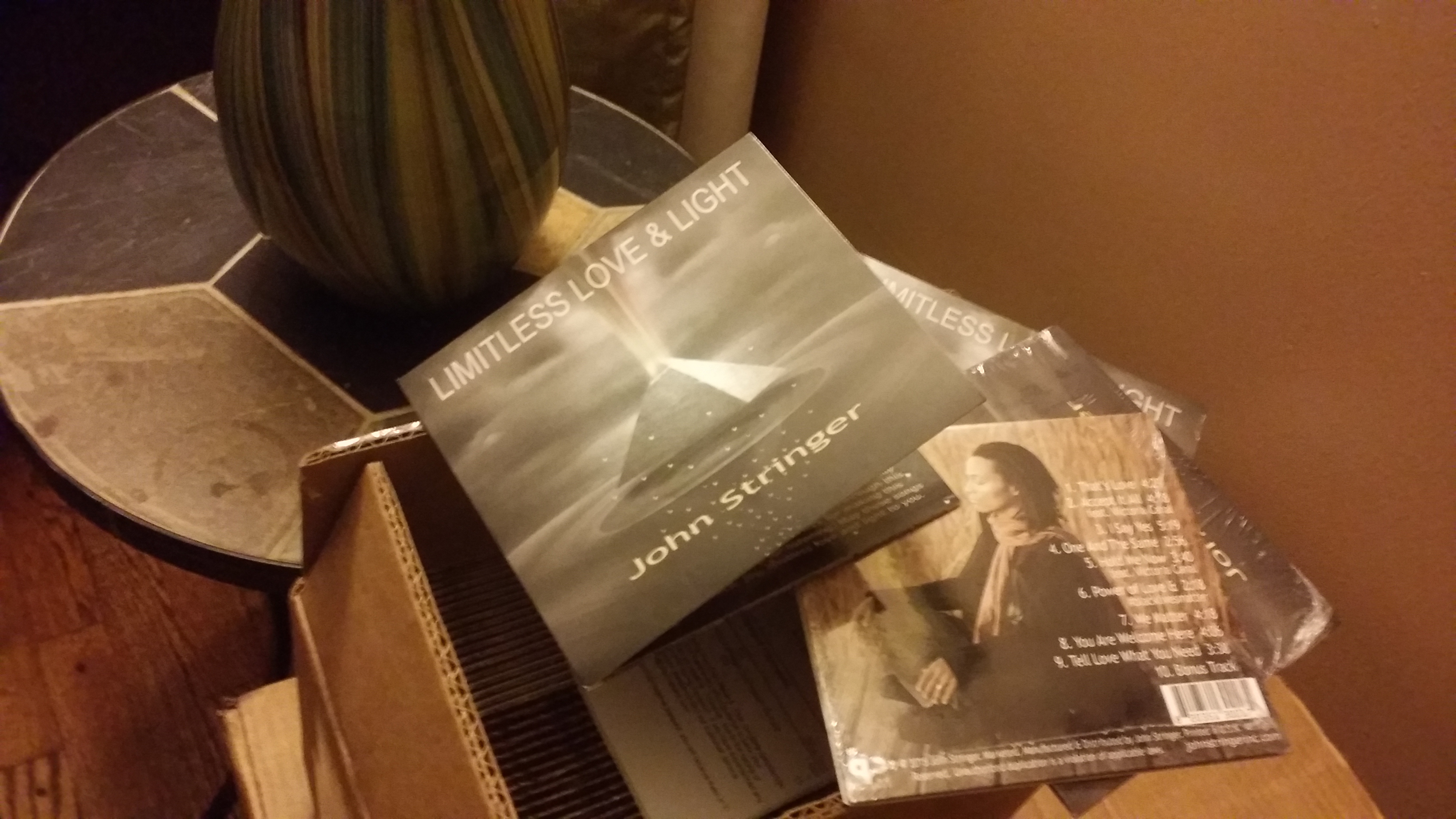 CDs Arrived, New Song release w/ Victoria Canal & Live Show Guest Performers
