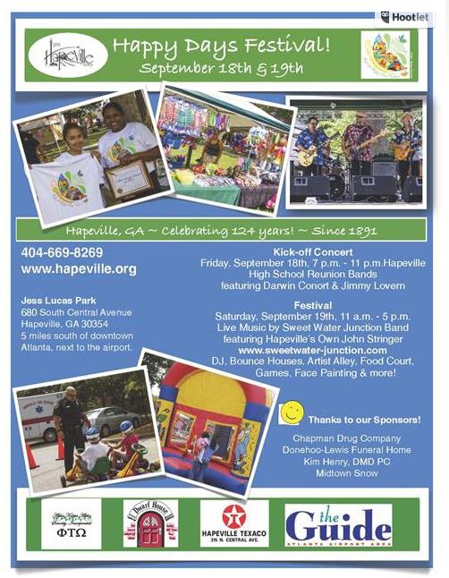 Kickstarter, Hapeville UMC, Happy Days Festival, Swaha Farewell, & PIPU, Oh My!