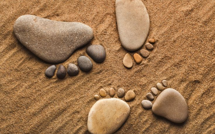Lessons from Rocks & Sand plus Inspiration