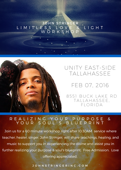 Joining the Unity East-Side Church in Tallahassee on Feb 07, 2016