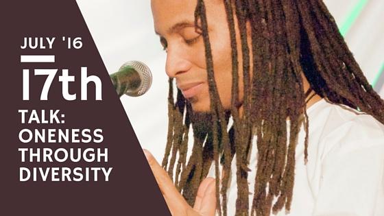 """Oneness Through Diversity"""