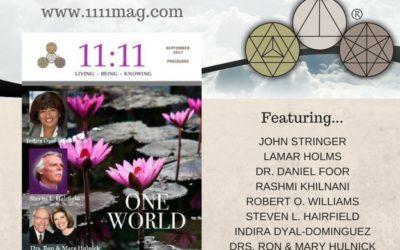 Celebrating ONE WORLD: 11:11 Magazine's latest issue