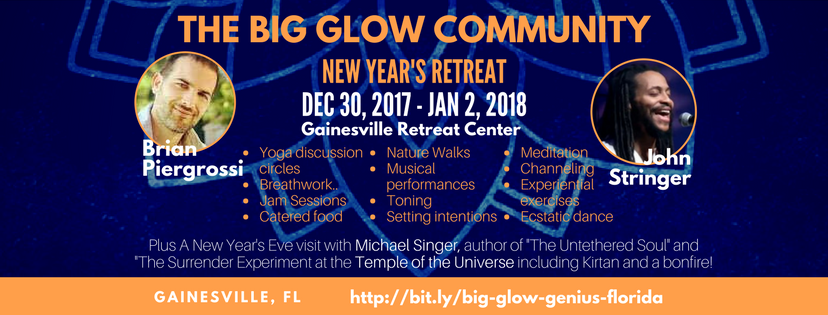 The Big Glow Community New Year's Retreat: Channel Your Highest Genius – Florida