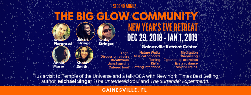 Private Page – Second Annual Big Glow Community New Year's Eve Retreat  – Florida