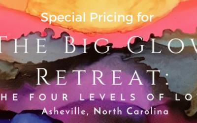 Next Big Glow Retreat Middle Bird, & Couples pricing