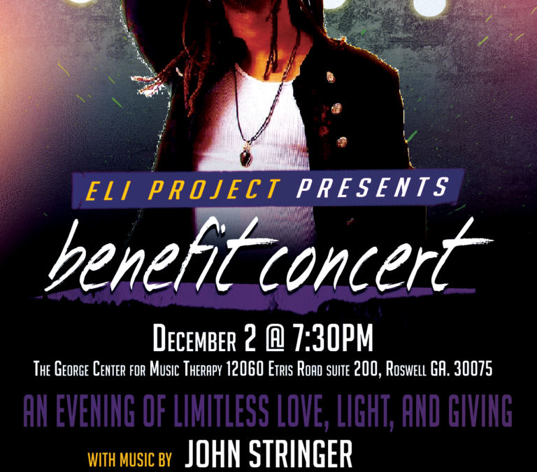 Eli Project Benefit Concert, Friday, Nov 2, 2016