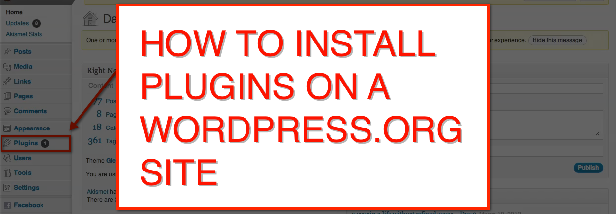 How to install plug-ins on WordPress.org sites in five easy steps