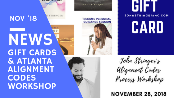 Atlanta Alignment Codes Workshop & New Gift Card Options